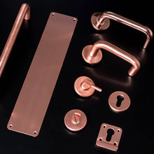 Satin Solid copper range