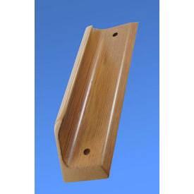 ANTWH1BTPCWE Anti-ligature pull handle in wood finish