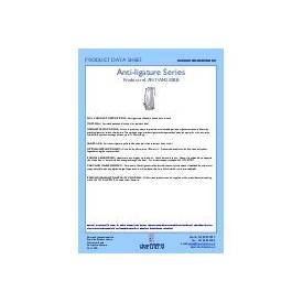 ANTWH250BB Data sheet for Anti-ligature pull handle